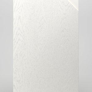 Ф345 Фасад глухой с древесным тиснением и интегрированной ручкой